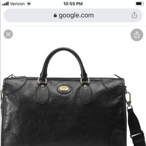 Gucci interlocking g duffle bag